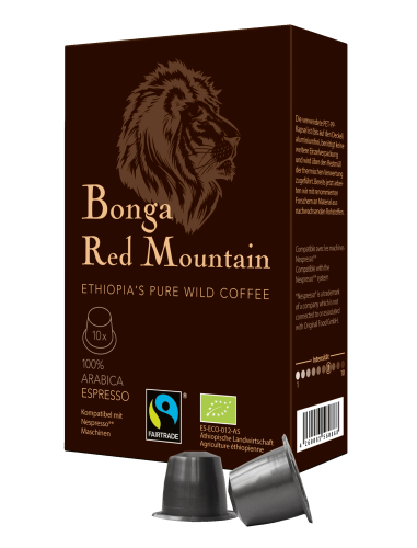 Bonga red mountain