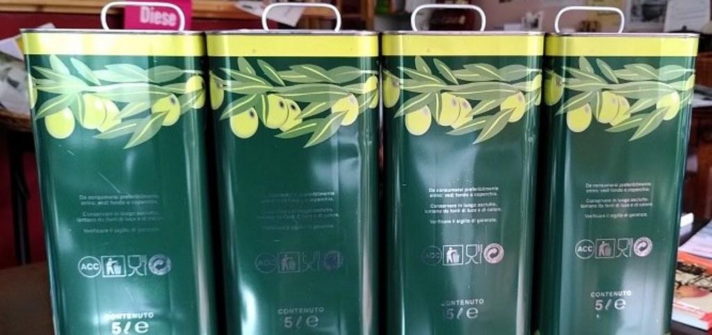 Olivenöl aus Riace ist angekommen