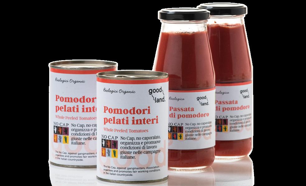 Fairtrade Passata- und Pelati-Tomaten mit Migrationshintergrund